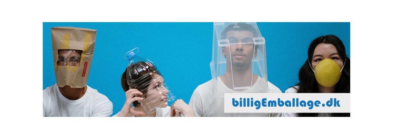 billigEmballage sponsorerer Makers Mod Corono