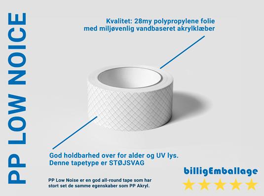 PP Low noice tape