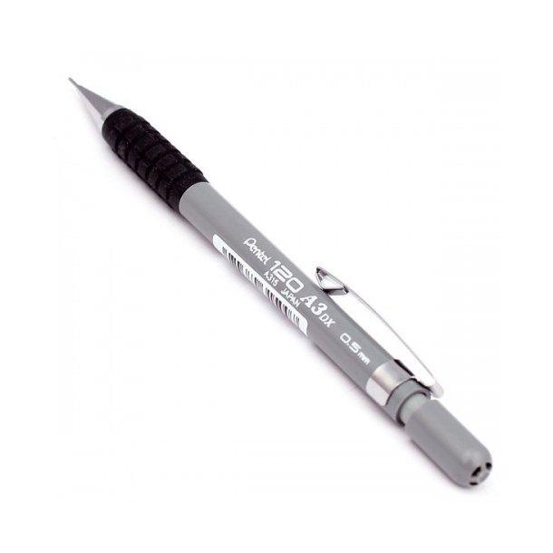 Pencil Pentel A315 0,5mm grå, (A120) - 12 stk