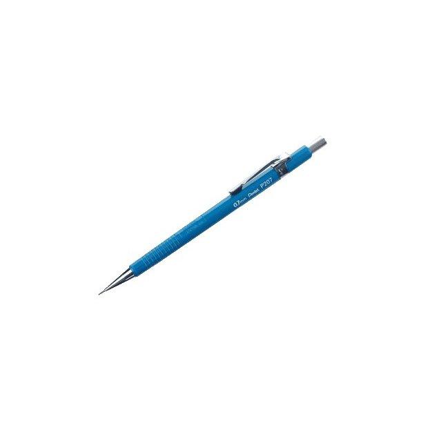 Pencil Pentel P207 0,7mm, Blå - 12 stk