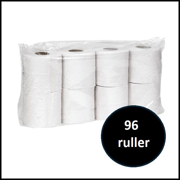 Toiletpapir - 3 lags 96 ruller