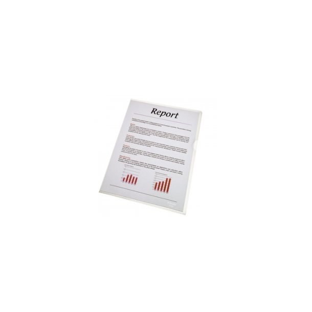 Esselte folder Standard glass cleas 105my A4 100 stk