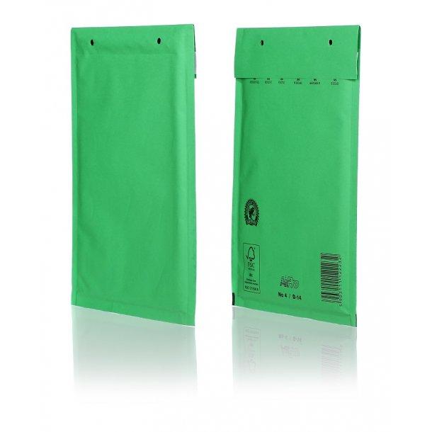 Boblekuverter - Grøn 200 x 275mm - 100 stk
