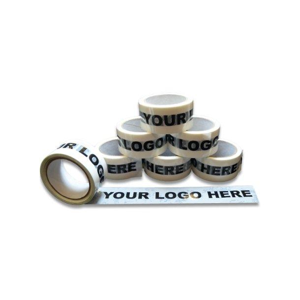Logotape 1 farve - Hotmelt tape - 36 ruller