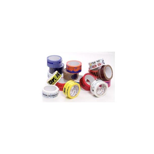 Logotape 2 farvet - low noice tape - 36 ruller