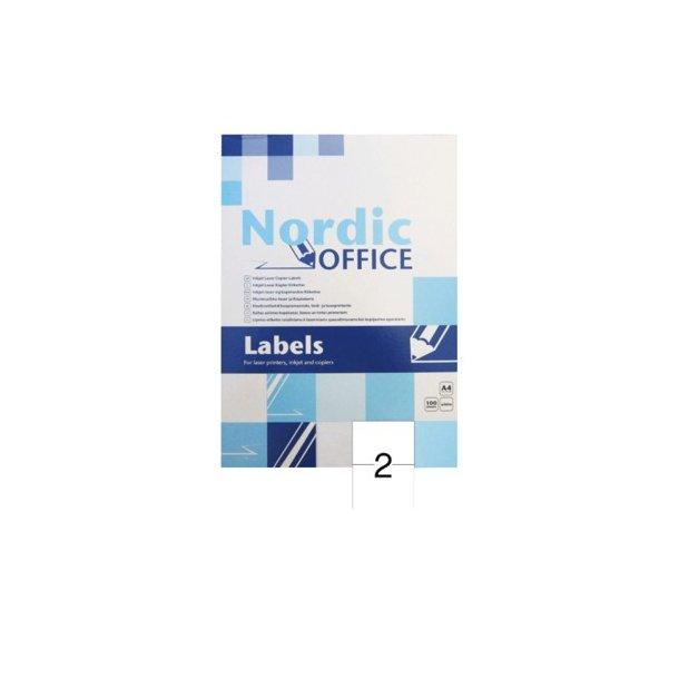 NOA etiketter 210x148mm - 1 pakke