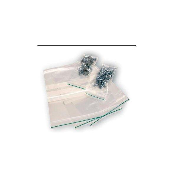 Lynlåsposer - 150 x 180 x 0,05 mm 1000 stk