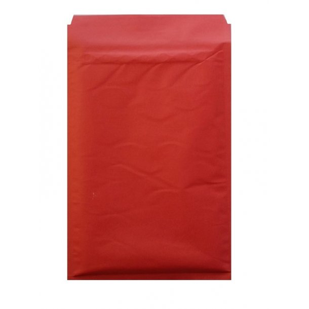 Røde boblekuverter 250 x 350 mm - 100 stk
