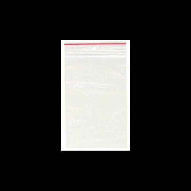 Lynlåsposer - 70 x 100 x 0,05 mm 1000 stk