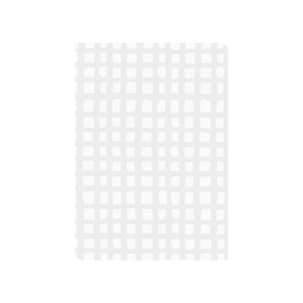 Gavepapir silver square 38 cm. x 175 m.
