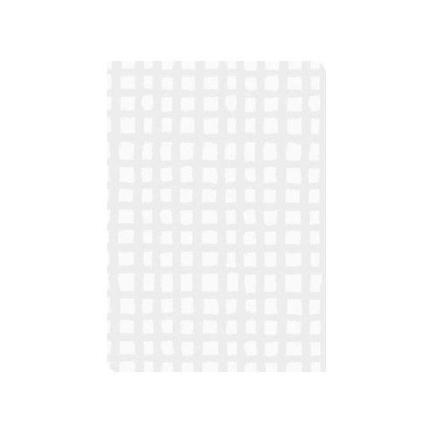 Gavepapir silver square 57 cm. x 175 m.
