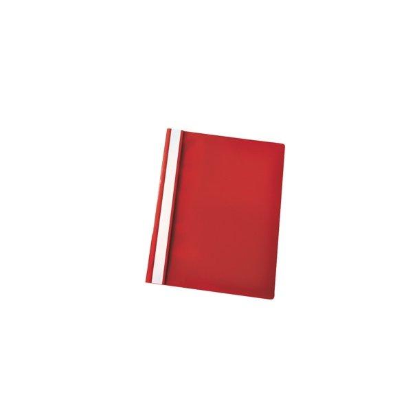 Tilbudsmappe A4 rød 25 stk