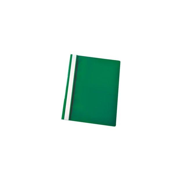 Tilbudsmappe A4 grøn 25 stk