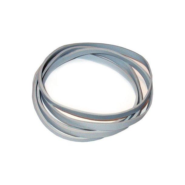 Gummibånd hvid 5x120 mm - 500 gr.