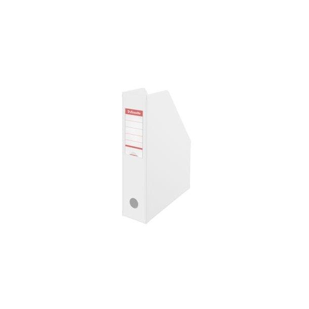 Tidsskriftsamler - Esselte PVC A4 70 mm Hvid 10 stk