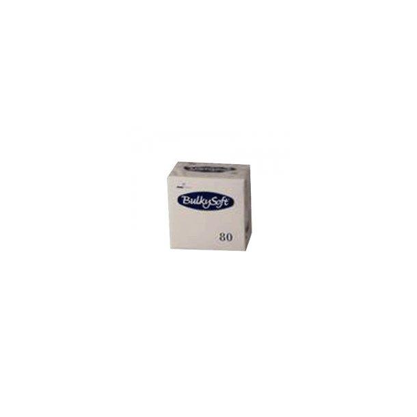 Servietter 24x24 cm 3-lags, Hvid 32132 - 80 stk