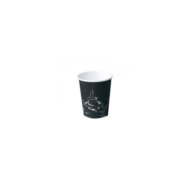 Kaffebæger pap 25 cl, Coffee Cup - 50 stk