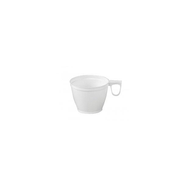 Kaffekopper m/hank 18 cl - 50 stk