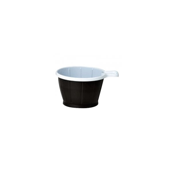 Kaffekopper m/hank brun 21cl - 50 stk