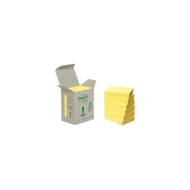 Post-it Notes 6531B recycle tower 51x38 mm 6 blokke