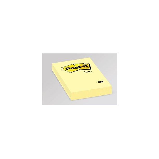 Post-it 656, 76 x 51mm, yellow 12 blokke