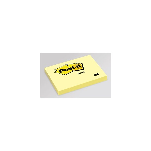 Post-it 657, 102 x 76mm, yellow 12 blokke