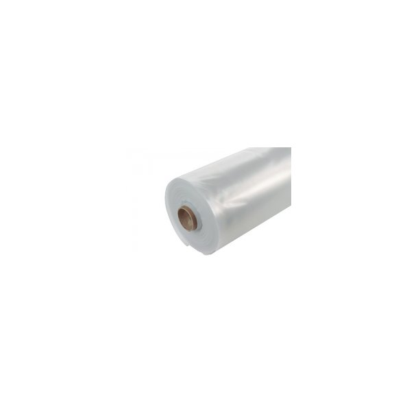 Plastfolie 2mx50mx0,15mm - 1 rulle