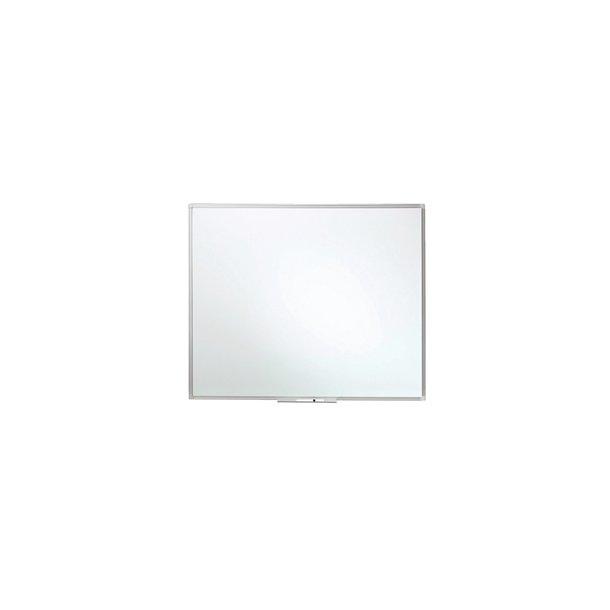 Whiteboard - Enamel 100x120cm Aluminium ramme