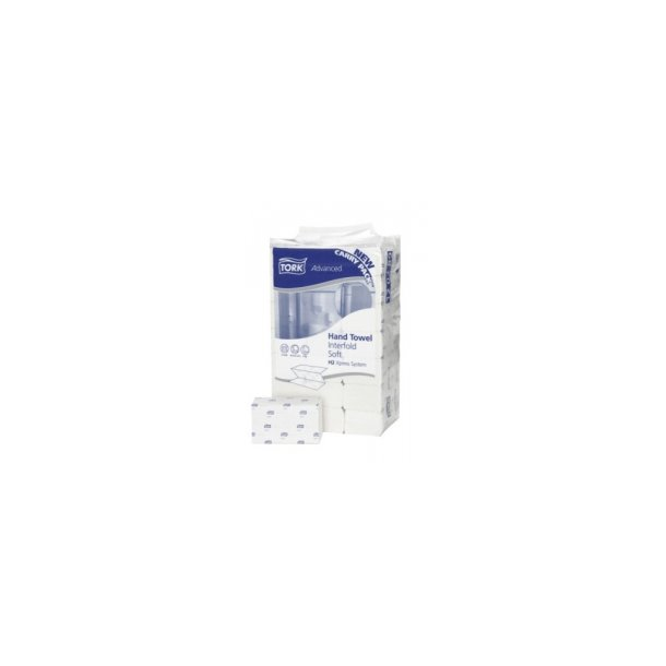 Håndklædeark Tork Advanced H2, Hvid, 3-fold, Xpres
