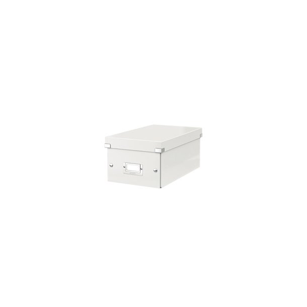 Leitz Click & Store storage box DVD White