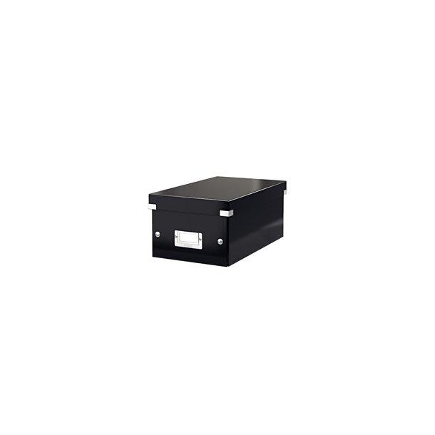 Leitz Click & Store storage box DVD Black