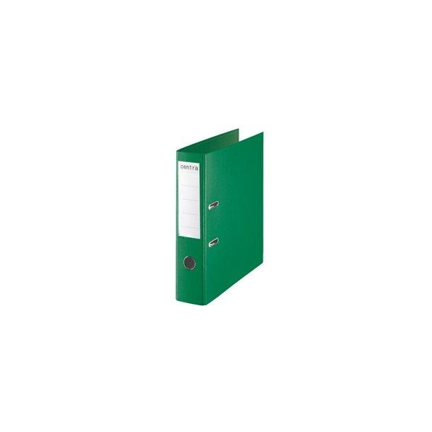 Brevordner - Centra w/o metalshoe A4/75mm Grøn 10 stk