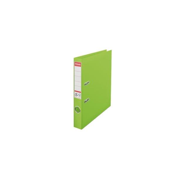 Brevordner - Esselte A4/50 Grøn 10 stk