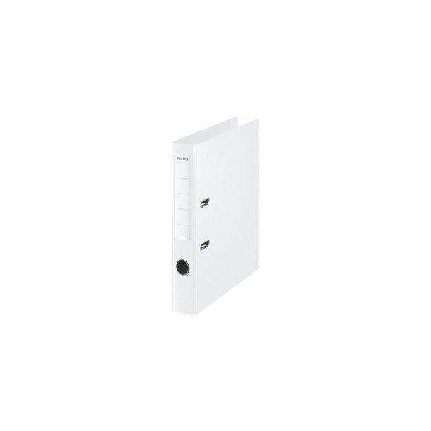 Brevordnere - Centra PP uden metalskinne A4, hvid 10 stk