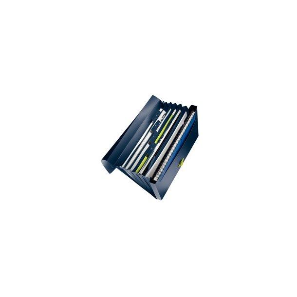 Projektmappe - Leitz PP Dark Blue 5 stk