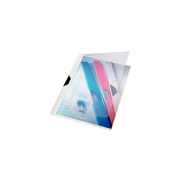Leitz 4170 clip file A4 White 25 stk