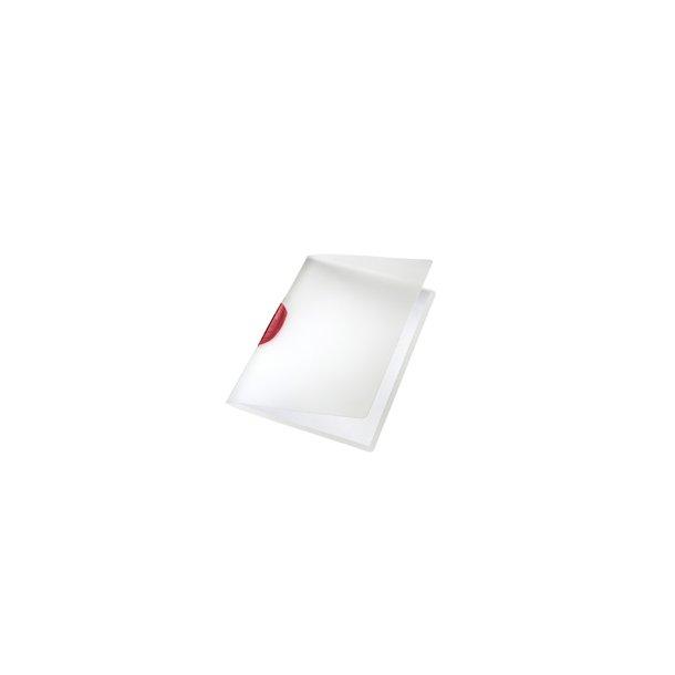 Leitz ColorClip clip file A4 Rød - 6 stk