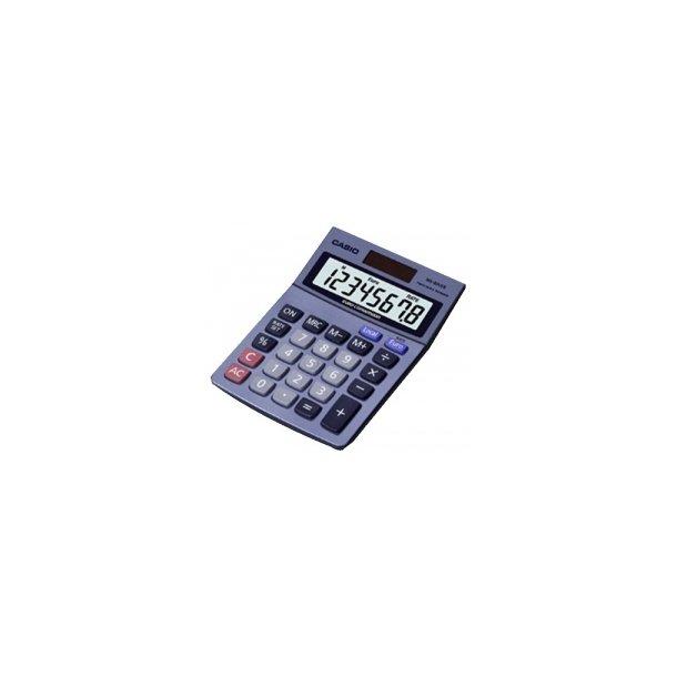 Lommeregner Casio MS-80 VER, euro/kr. - 1 stk