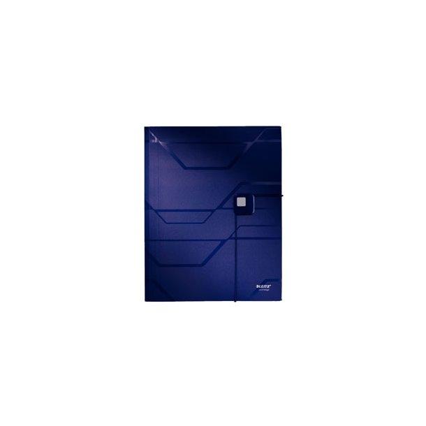 Sorteringsmappe - Leitz Prestige 6 tabs Blå 6 stk
