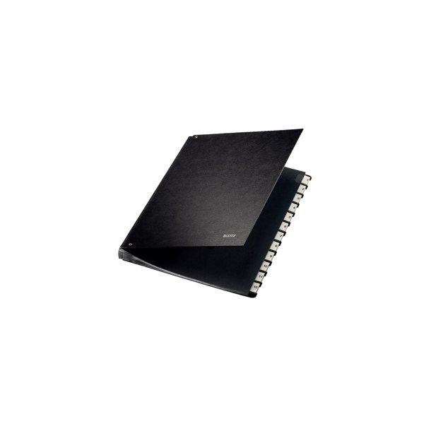 Sorteringsmappe - Letiz 1-12 sort 1 stk