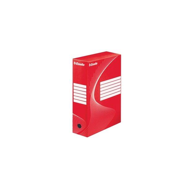 Opbevaringskasser - Esselte Boxy 100 Rød 25 stk