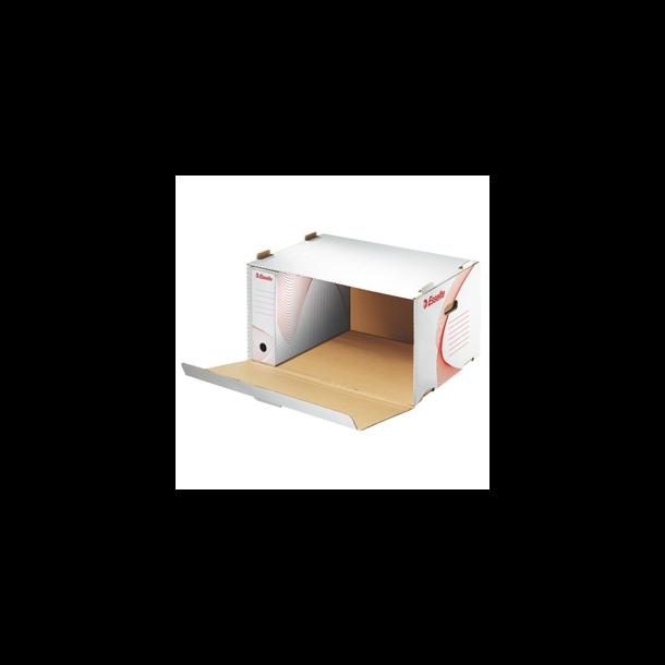Opbevaringskasser - Esselte frontload White 10 stk