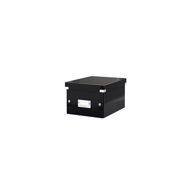 Opbevaringskasser - Leitz Click & Store storage box Small Black 1 stk