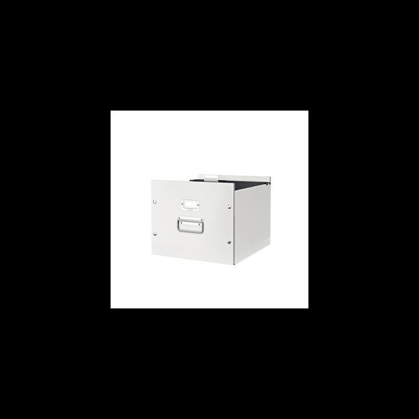 Hængemappeboks - Leitz Click & Store White 6 stk