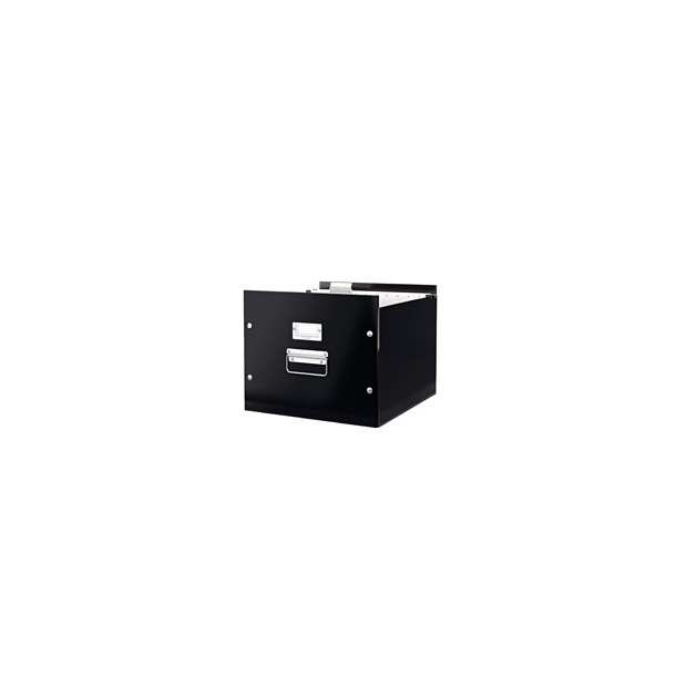 Opbevaringskasser - Leitz Click & Store Black 6 stk.