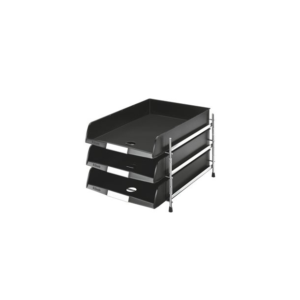 Brevbakker - Rack C4-3 Black trays
