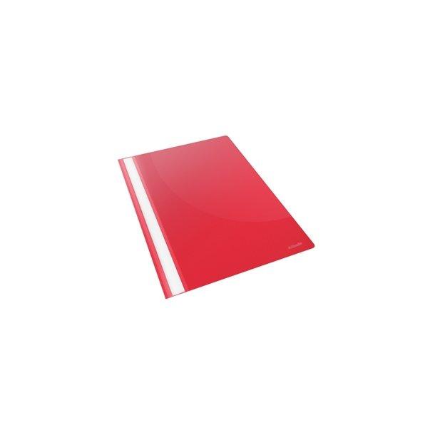 Tilbudsmapper - w/out pock A4 Red 25 stk
