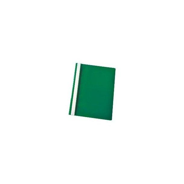 Tilbudsmapper - w/out pock A4 Green 25 stk