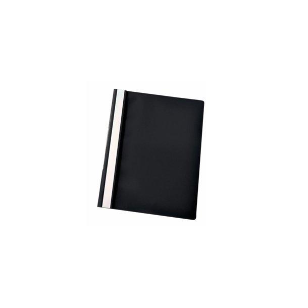 Tilbudsmapper - w/out pock A4 Black 25 stk