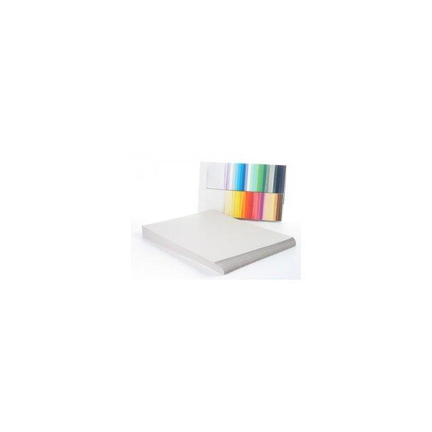 Karton A4 grå - 100 ark